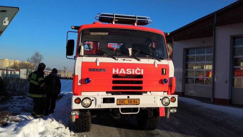 KHA 20 Tatra 815 SDH Krásné Pole
